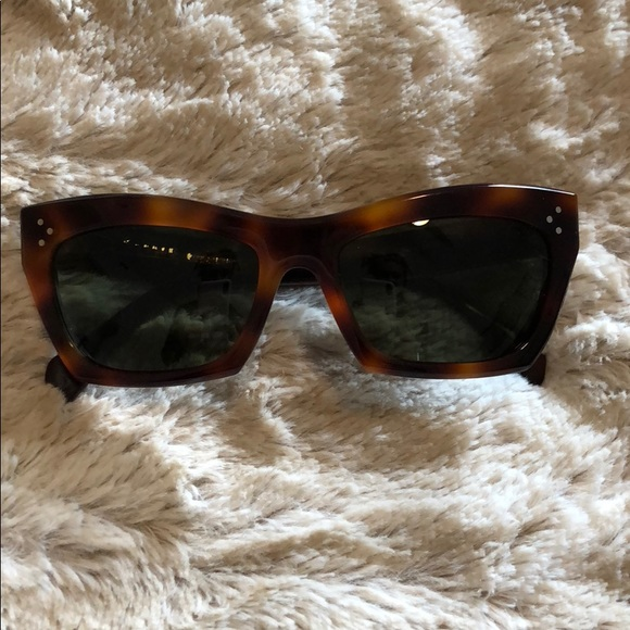 c9839917b3a Celine Accessories - Celine Authentic Tortoise shell print sunglasses